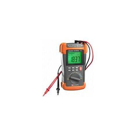 Facom Multimètre mégohmmètre et testeur d'isolement - 715