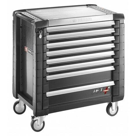 Facom Servante JET+ 8 tiroirs - 4 modules par tiroir - JET.8GM4