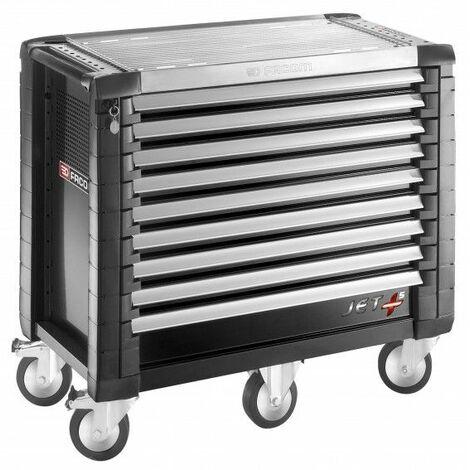 Facom Servante JET+ 9 tiroirs - 5 modules par tiroir - JET.9GM5