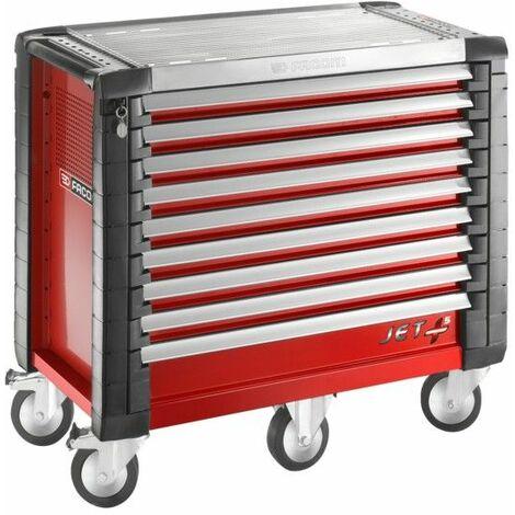 Facom Servante JET+ 9 tiroirs - 5 modules par tiroir - JET.9M5