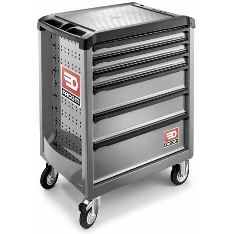 FACOM - Servante Roll 6 tiroirs gamme sécurité - CHRONO.7GM3APB