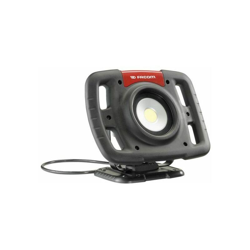 Wiederaufladbar LED-Strahler, 3 Helligkeitsstufen (1500 / 2500 / 5000 Lumen) - 777.SPOT - Facom