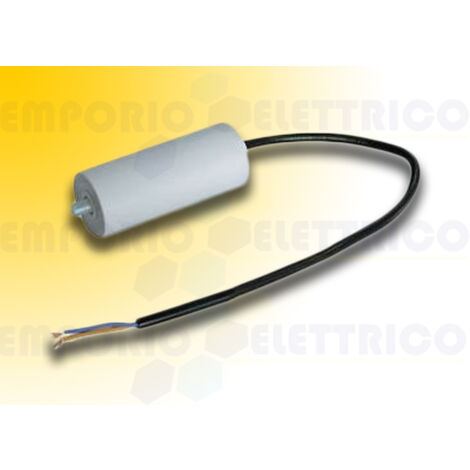 fadini 30 µF capacitor with electric cable 7066l