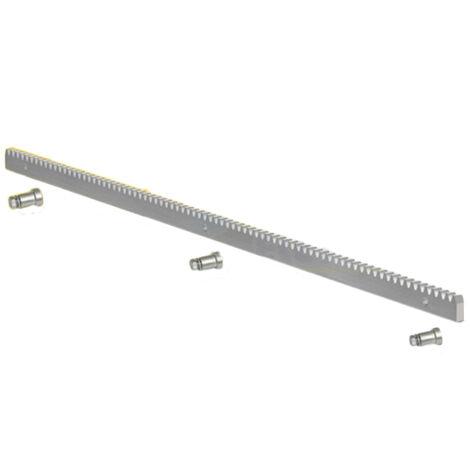 fadini 4-Modul verzinkte Zahnstange 30x12 - 1 Meter - 207l