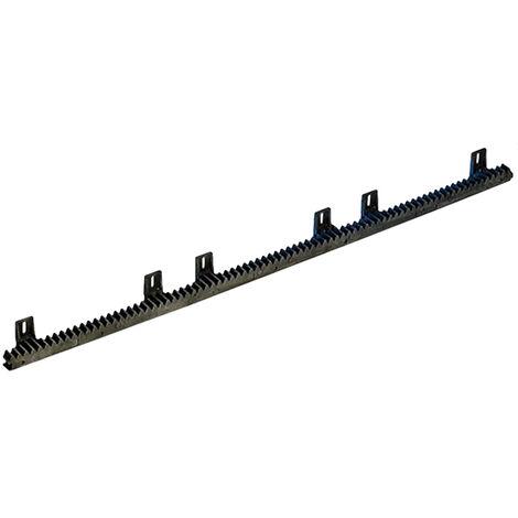 fadini 4-Modul Zahnstange aus Nylon 30x20 - 1 Meter - 2118l