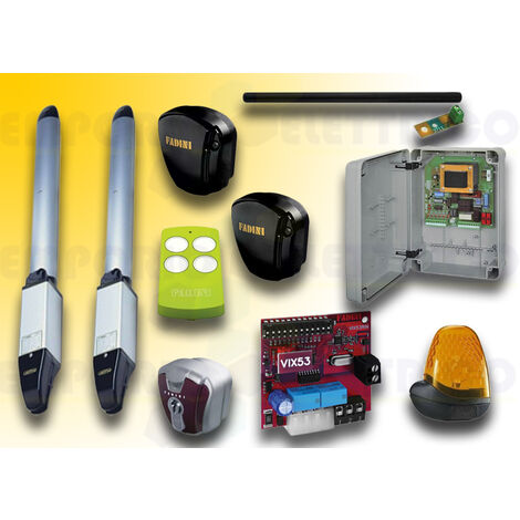 fadini automation kit nupi 66 230v ac 6660vl