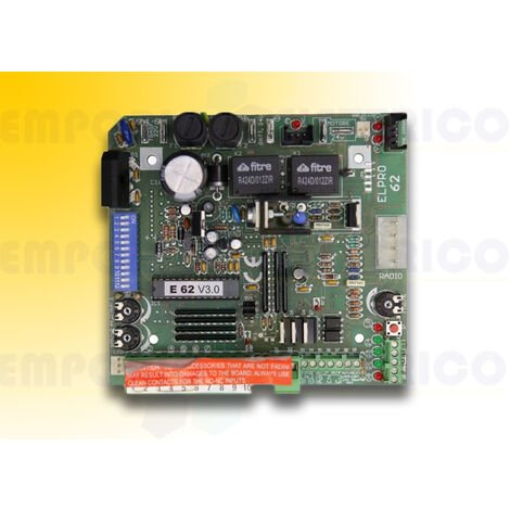 fadini electronic control board elpro 62 230v 620l