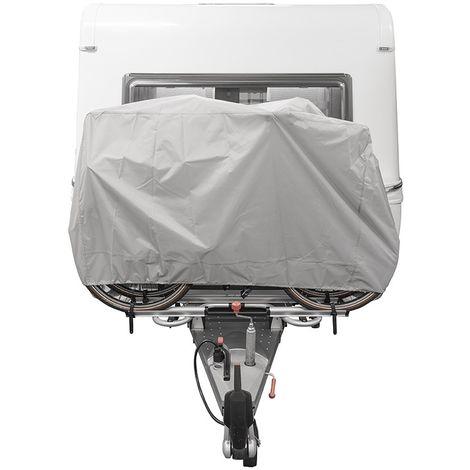 Fahrradschutzhülle XL für 2 Fahrräder für die Deichselmontage (Ripstop)