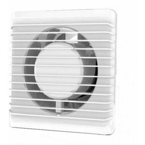 Faible consommation d'énergie salle de bain cuisine silencieuse hotte 125mm avec de retard extraction de ventilation de la minuterie