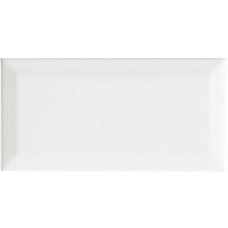 FAIENCE 5 carreaux METRO - 7,5 x 15 cm - Blanc metro