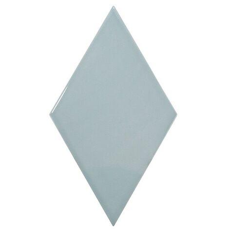 Faience losange bleu brillant 15x26cm RHOMBUS WALL ASH BLUE 22752 - 1m²