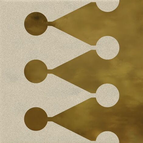Faïence murale beige et dorée BERTHIER BEIGE OR20X20- Unité