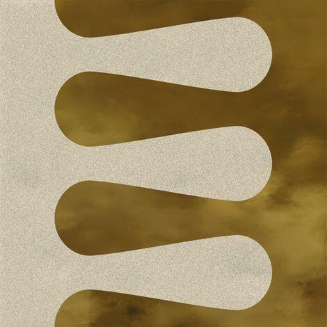 Faïence murale beige et dorée MERINOSBEIGEOR20X20- Unité