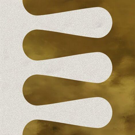 Faïence murale blanche et dorée MERINOSBLANC OR20X20- Unité