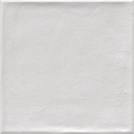 Faience murale blanche patinée ETNIA 10x20cm - 1.36m²