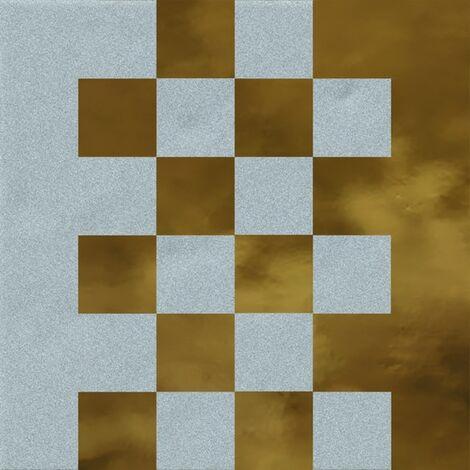 Faïence murale bleue et dorée SEDILLOT AZUL OR20X20- Unité