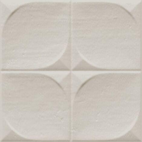 Faience murale brillante beige SINDHI 13x13cm - 0.676 m²