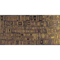 Faience murale decoree or dore motifs geometriques 20x40cm TAWAS - 1.04m²