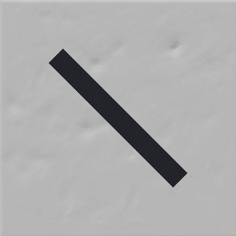Faïence murale grise et noire VINYLE GRIS 20X20- 1 m²