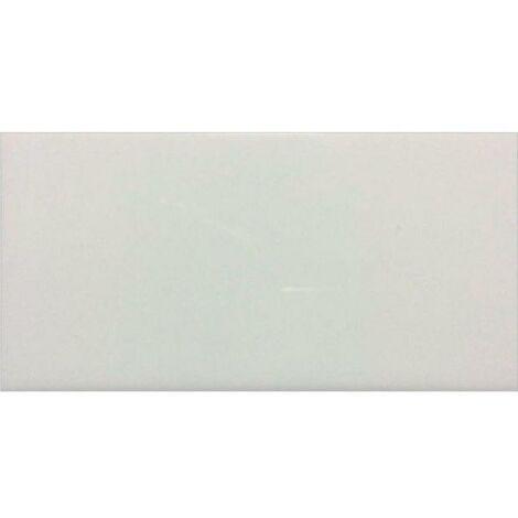 Faïence murale intérieure blanc brillant L. 150 x l. 7.50 x h. 5 mm