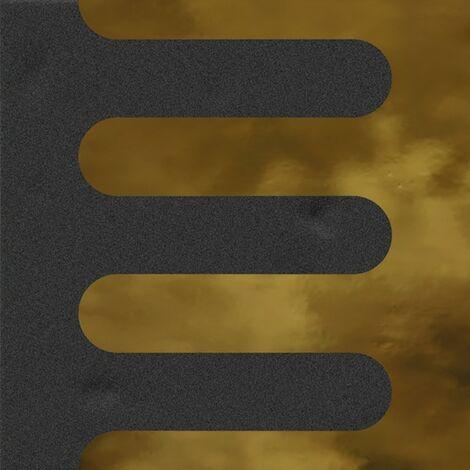 Faïence murale noir et dorée GOLBER GRAFITO OR20X20- Unité