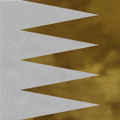 Faïence murale noir et dorée GOUGOURAN HUMO OR20X20 - Unité