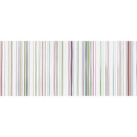 Faience murale rayures acidulees UTA 20x50cm - 1m²