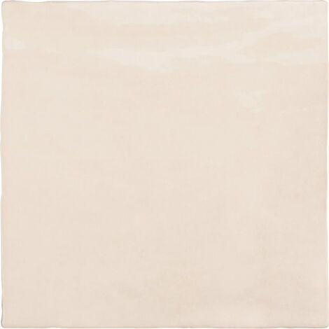 Faience nuancée effet zellige beige 13.2x13.2 RIVIERA WHEAT 25856-1 m²