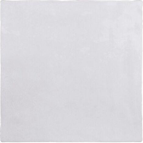Faience nuancée effet zellige gris 13x13 RIVIERA GRIS NUAGE 25852-1 m²