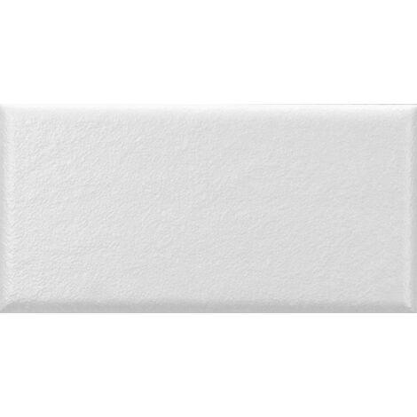 Faience nuancée mate moderne blanche MATELIER ALPINE WHITE - 26475 - 7.5x15 cm - 0.50m²