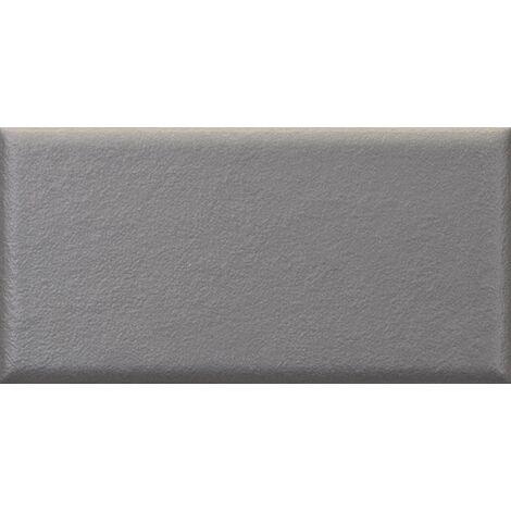 Faïence nuancée mate moderne gris MATELIER FOSSIL GREY - 26476 - 7.5x15 cm - 0.50m²