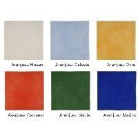 Faience rustique brillante ARANJUEZ coloris au choix 20x20 cm - 1m²