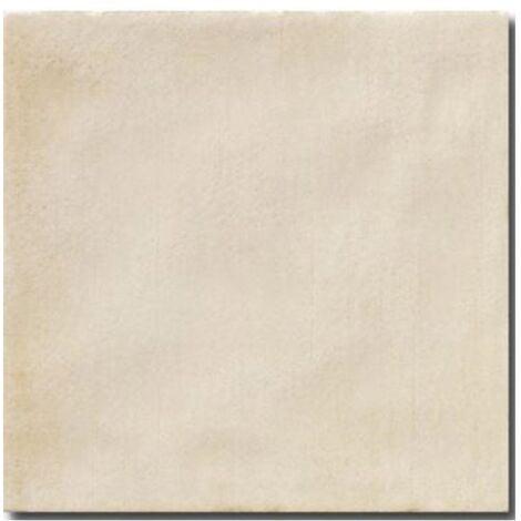 Faience rustique patinée BEIGE 15x15 cm - 1m²