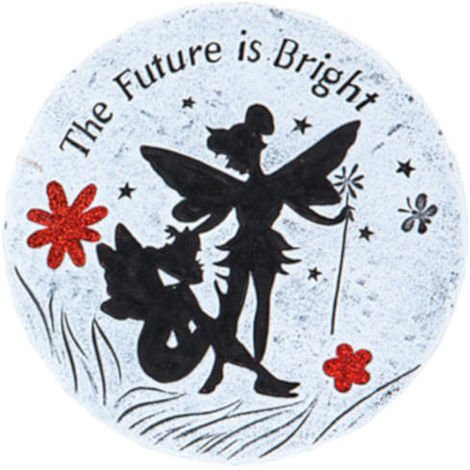 Fairies Garden Message Stone