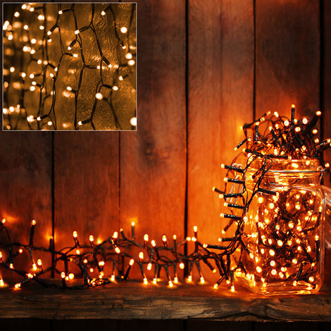 """main image of """"Fairy Lights Christmas Chain of Lights String LED Battery Operated Blue White"""""""