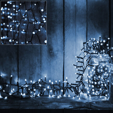 Fairy Lights Christmas Chain of Lights String LED Battery Operated Blue White