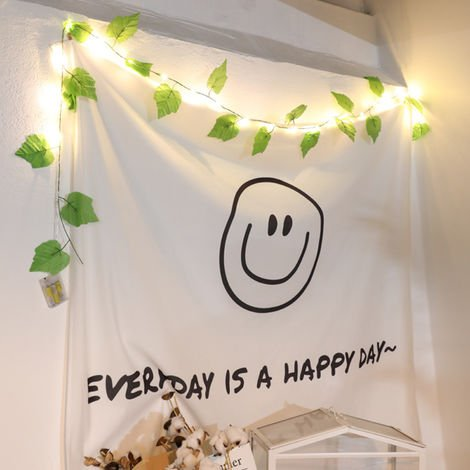Fairy String Lights Leaf Shaped Decorative Hanging Lights Warm White Bulbs Copper Wire Lights Waterproof