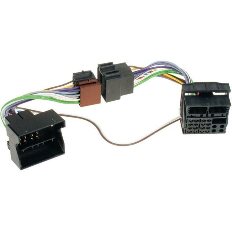 Faisceau Kit mains libres ISO compatible avec BMW ap00 Land Rover Rover ap01 Parrot connect. plats - Cable MUTE