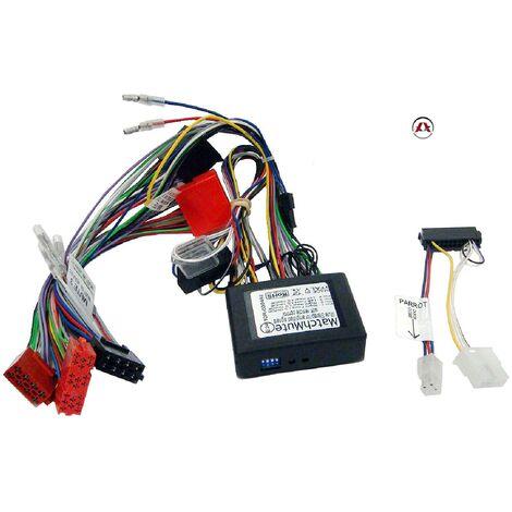 Faisceau Mute adaptateur ISO avec Ampli Bose compatible avec Audi A3 A4