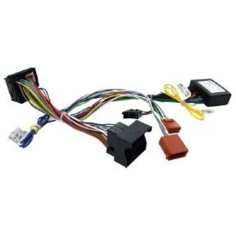 Faisceau Mute KML compatible avec Citroen Peugeot Fakra avec Ampli JBL