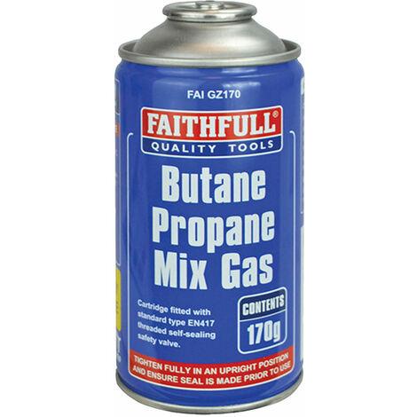 "main image of ""Faithfull 2175 Butane Propane Gas Cartridge 170g"""