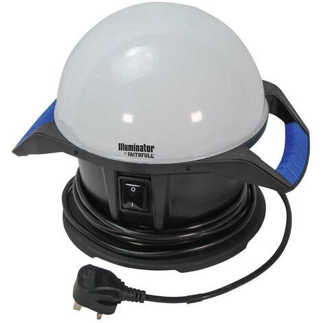 Faithfull 360 Degree Task Light Illuminator 50W 4000 Lumen Site Light FPPSLTL50