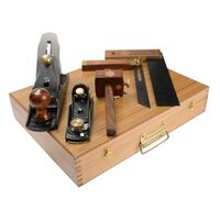 Faithfull 5 Piece Carpenters Woodworking Tool Kit Planes FAICARPSET XMS18PLANE5