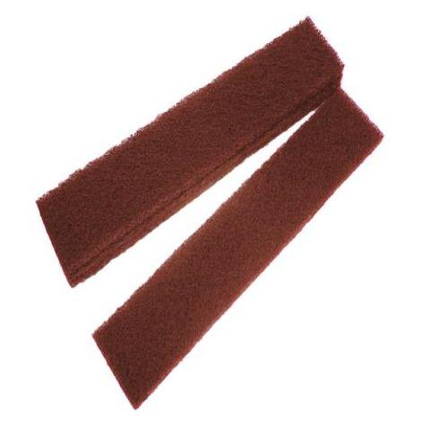 Faithfull Abrasive Plumb Strips Maroon 50 x 2