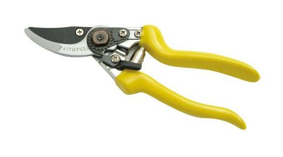 bypass secateurs 175mm (7in) traditional - Faithfull