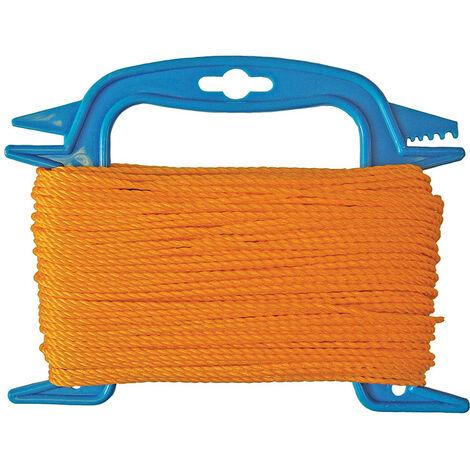 Faithfull FAI306 306 Polyethylene Ranging Line 30m (100ft) Orange