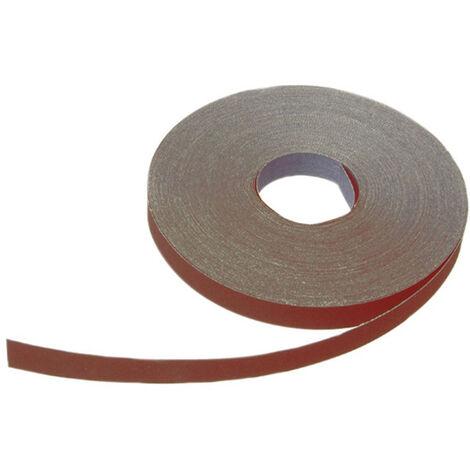 "main image of ""Faithfull FAIAAOR2560 Aluminium Oxide Cloth Sanding Roll 50m x 25mm 60G"""