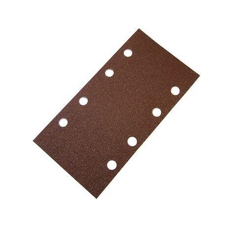 Faithfull FAIAOTSBOS 1/3 Sanding Sheet Red Bosch Clip Holed Assorted (Pack of 5)