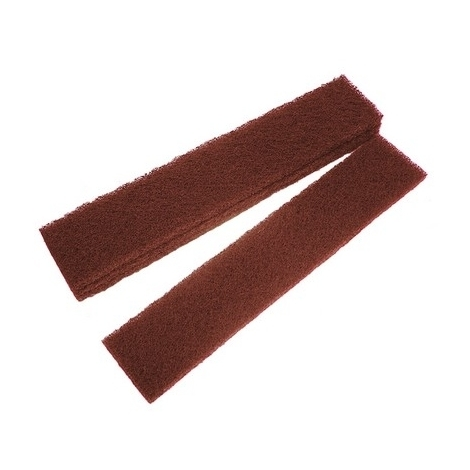 Faithfull FAIAPLUSTRIP Abrasive Plumb Strips Maroon Assorted 50 x 250mm (6)