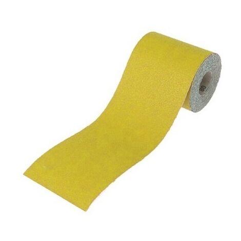 "main image of ""115mm Yellow Aluminium Oxide Paper Rolls"""